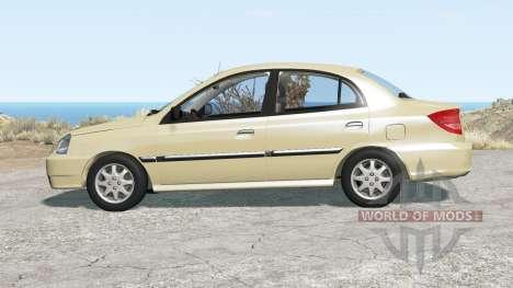 Kia Rio sedan (DC) 2003 for BeamNG Drive
