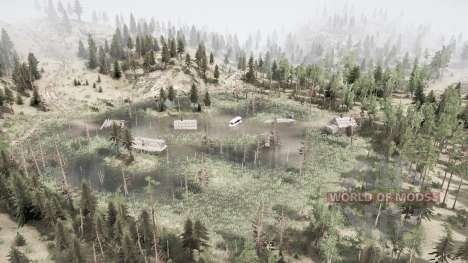 Farmland in the taiga for Spintires MudRunner