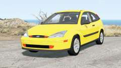 Ford Focus ZX3 (DBW) 2000 for BeamNG Drive