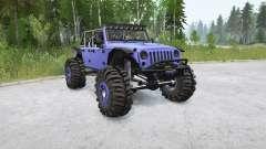 Jeep Wrangler Unlimited (JK) 2015〡Frogs for MudRunner