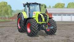 Claas Axion 850〡wheels weights for Farming Simulator 2015