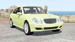 Mercedes-Benz E 280 (W211) 2007 v2.0 for BeamNG Drive