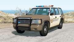Gavril Roamer Nalgones County Sheriff v2.0 for BeamNG Drive