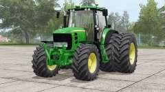 John Deere 7030 Premium〡wheels selection for Farming Simulator 2017