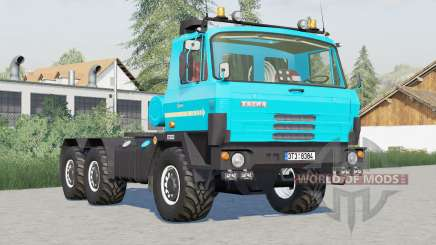 Tatra T815 6x6 tractor〡to choose from 3 colors for Farming Simulator 2017