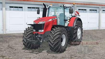 Massey Ferguson 8737〡door opening for Farming Simulator 2015