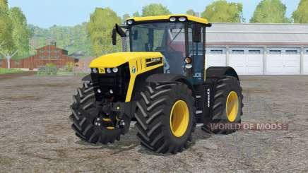 JCB Fastrac 4220〡steered axles for Farming Simulator 2015