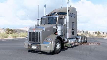 Kenworth T800〡animated antennas for American Truck Simulator