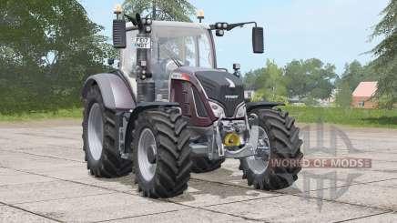 Fendt 700 Vario〡optional Design Line pack for Farming Simulator 2017