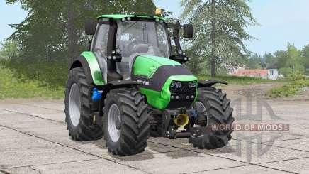 Deutz-Fahr 6190 TTV〡working headlights reworked for Farming Simulator 2017