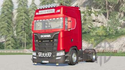 Scania S-series Highline 2017〡extra Hella lights for Farming Simulator 2017