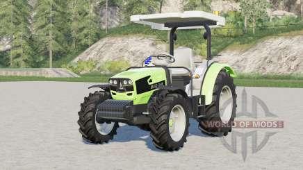 Deutz-Fahr 4080 E〡wheel options for Farming Simulator 2017