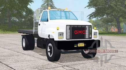 GMC TopKick C7500 Regular Cab Flatbed for Farming Simulator 2017