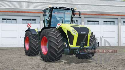 Claas Xerion 5000 Trac VC〡full lighting for Farming Simulator 2015