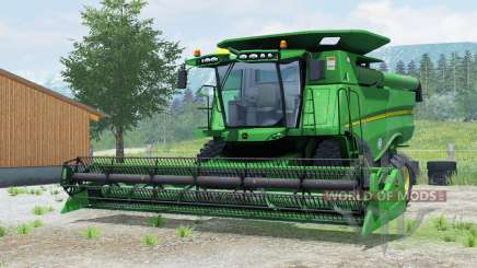 John Deere S660 for Farming Simulator 2013