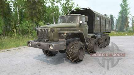 Ural 6614 8x8 for MudRunner