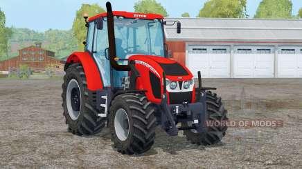 Zetor Forterra 140 HSX〡digital speedometer for Farming Simulator 2015
