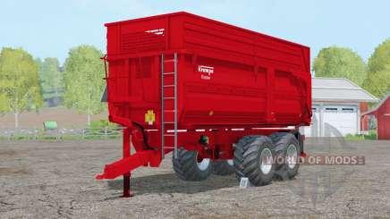 Krampe Big Body 650 S〡steerable axle for Farming Simulator 2015