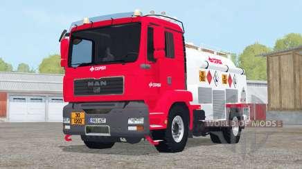 MAN TGM Fuel Truck for Farming Simulator 2015