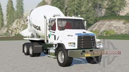 Freightliner 114SD Concrete Mixer Truck for Farming Simulator 2017