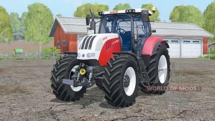 Steyr 6160 CVT〡interactive control for Farming Simulator 2015