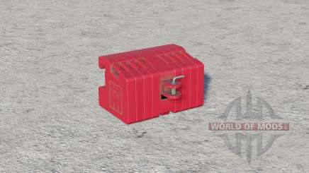 International Harvester front weight〡with weight carrier for Farming Simulator 2017