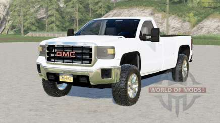 GMC Sierra 3500 HD Regular Cab 2015 for Farming Simulator 2017
