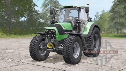 Deutz-Fahr 6160 TTV Agrotron〡Nokian tires for Farming Simulator 2017