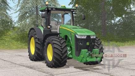 John Deere 8R series〡movable front fender for Farming Simulator 2017