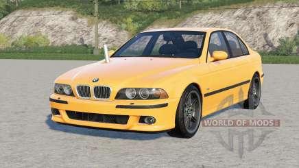BMW M5 (E39) 2001 for Farming Simulator 2017