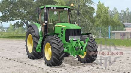 John Deere 7030 Premium〡two weight options for Farming Simulator 2017