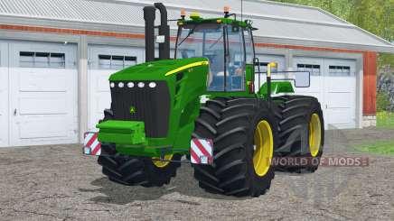 John Deere 9630〡with terra tires for Farming Simulator 2015