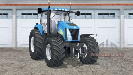 New Holland TG285〡weights in wheels for Farming Simulator 2015