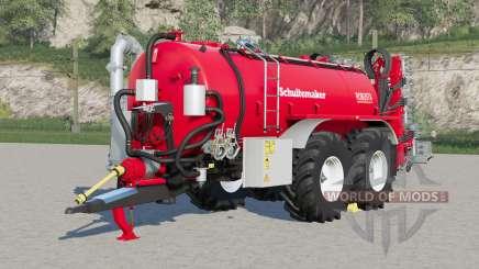 Schuitemaker Robusta 225〡tire pressure system for Farming Simulator 2017