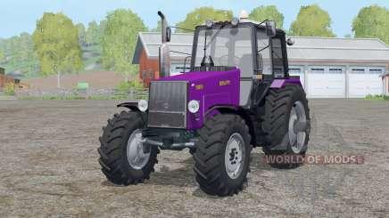 MTH 1221B Belarus〡dynamic exhaust for Farming Simulator 2015