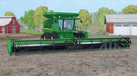 John Deere S690i〡washable for Farming Simulator 2015