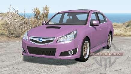 Subaru Legacy B4 (BM) 2010 for BeamNG Drive