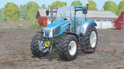 New Holland T5 series for Farming Simulator 2015