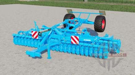 Lemken Heliodor 9-600 KA〡kurzscheibenegge for Farming Simulator 2017