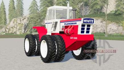 White A4T-1600 Plainsman for Farming Simulator 2017
