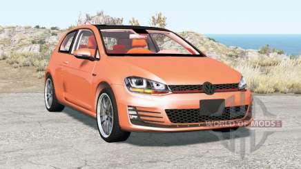 Volkswagen Golf GTI 3-door (Typ 5G) 2013 for BeamNG Drive