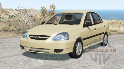 Kia Rio sedan (DC) 2003 for BeamNG Drive