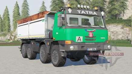 Tatra T815 TerrNo1 8x8 Tipper 2003 for Farming Simulator 2017