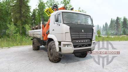 Kamaz 4350〡th of the chassis variant for MudRunner