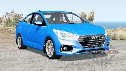 Hyundai Solaris (HCR) 2017 for BeamNG Drive