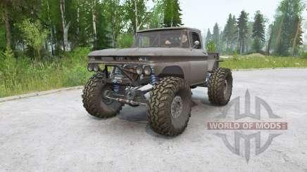 Chevrolet K10 Rockwell for MudRunner
