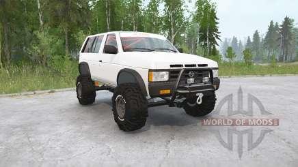 Nissan Pathfinder 4-door (WD21) 1990〡off-road for MudRunner