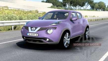 Nissan Juke (YF15) 2015 v1.5 for American Truck Simulator