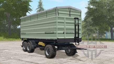 Casella three-axle trailer for Farming Simulator 2017