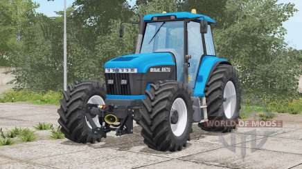New Holland 70-series〡weight or front stroke for Farming Simulator 2017